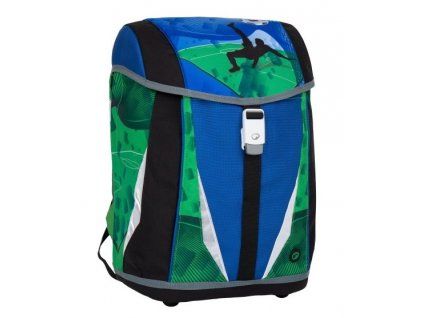 Bagmaster POLO 7 B BLUE/GREEN/BLACK  + LED Čelovka 3W