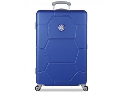 cestovný kufor SUITSUIT® TR-1225/3-M ABS Caretta Dazzling Blue  + LED svítilna