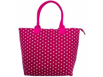Dámská taška JAZZI 3152 - tmavo růžová