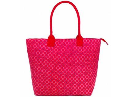 Dámská taška JAZZI 3155 - tmavo růžová
