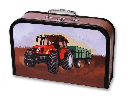 detský kufřík Traktor