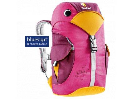 Deuter Kikki magenta-blackberry - detský batůžek