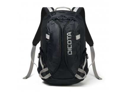 Dicota Backpack Active XL 15-17.3 black/black  + LED Svítilna