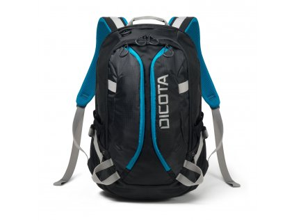 Dicota Backpack Active XL 15-17.3 black/blue  + LED Svítilna