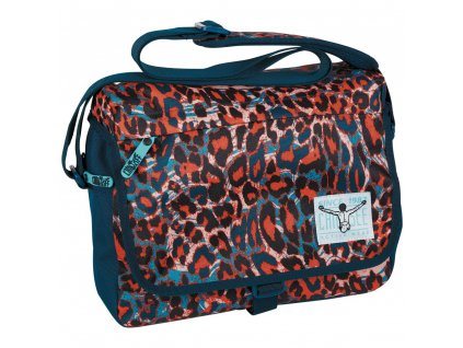 Chiemsee Shoulderbag medium Mega flow blue
