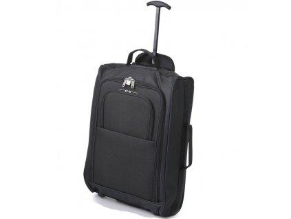 kabinová batožina CITIES T-830/1-55 - čierna