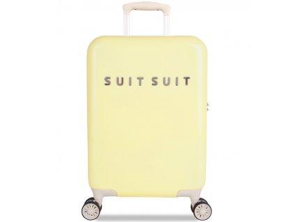 kabinová batožina SUITSUIT® TR-1220/3-S - Fabulous Fifties Mango Cream  + LED Svítilna
