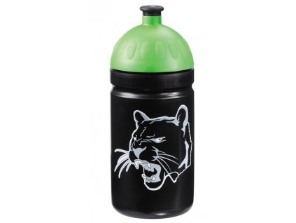 Lahev na pití 0,5 l, čierny panter