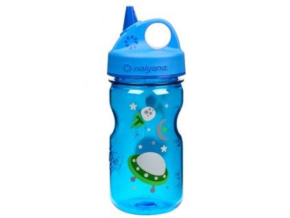 Nalgene Grip-n-Gulp Kids 350 ml Blue/Space - láhev pro děti