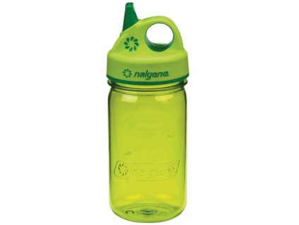 Nalgene Grip-n-Gulp Kids 350 ml Spring Green - láhev pro děti