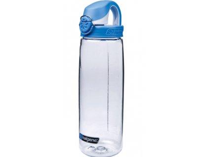 Nalgene OTF 750 ml Clear Seaport/Cap - láhev
