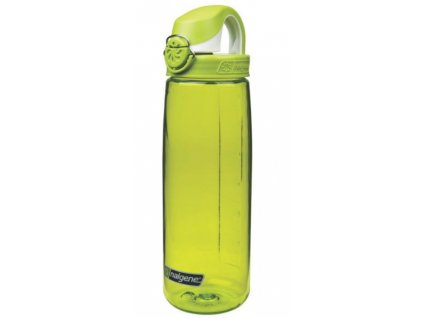 Nalgene OTF 750 ml Spring Green & White Cap - láhev