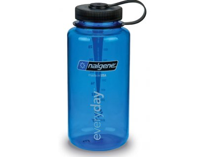 Nalgene Wide Mouth 1 l Blue - láhev