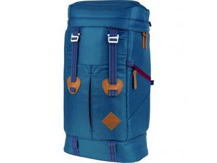 NITRO batoh BACKWOODS blue steel  + LED Svítilna