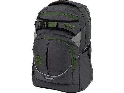 8c51fae1d1d NITRO školní batoh SUPERHERO pirate black + LED Svítilna