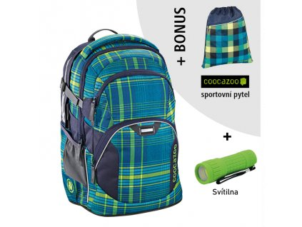 Školní batoh coocazoo JobJobber2, Walk The Line Lime