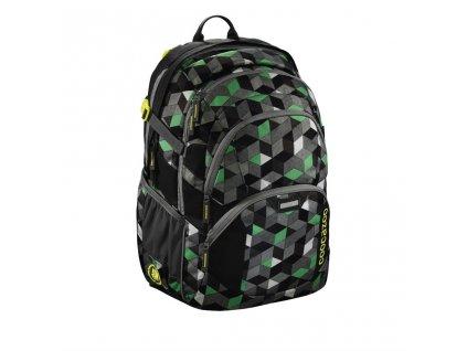 Školní batoh Coocazoo JobJobber2, Crazy Cubes  + LED svítilna