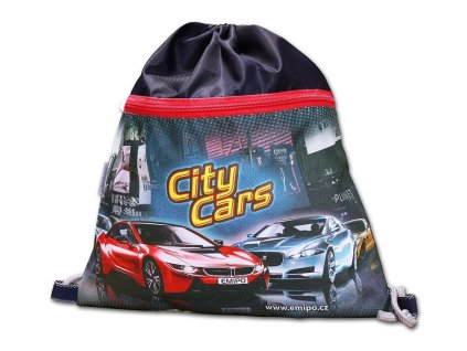 Školní vrecko City Cars