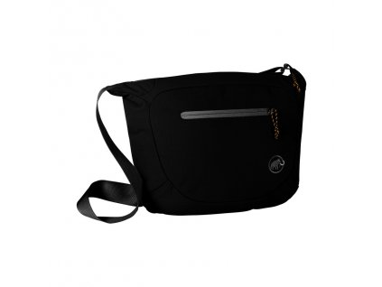 Mammut Shoulder Bag Round 4 black 0001