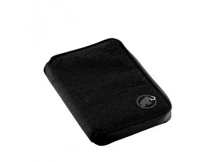 Mammut Zip Wallet Mélange black 0001