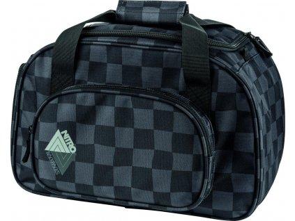 NITRO taška DUFFLE BAG XS checker