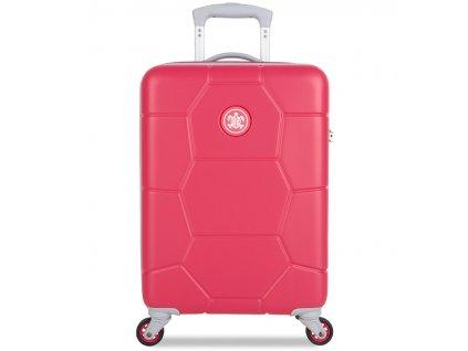 kabinová batožina SUITSUIT® TR-1247/3-S ABS Caretta Teaberry  + LED Čelovka 3W