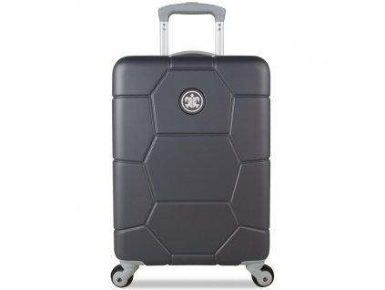 kabinová batožina SUITSUIT® TR-1226/3-S ABS Caretta Cool Gray  + LED svítilna