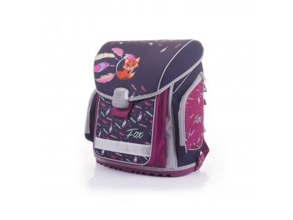 Školní batoh PREMIUM FLEXI Premium Fox 3-40017  + LED Svítilna