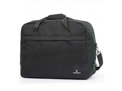 Cestovná taška MEMBER'S SB-0036 - čierna