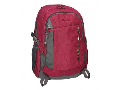 Studentský batoh SPIRIT LENOX bordeaux
