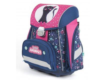Školní batoh PREMIUM kočka 1-57418