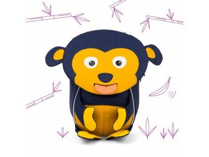 Batůžek pro nejmenší Affenzahn Marty Monkey - dark blue