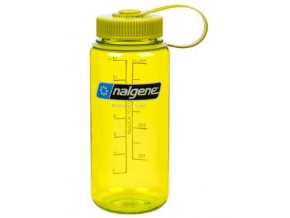 Nalgene Wide Mouth 500 ml Spring Green - láhev