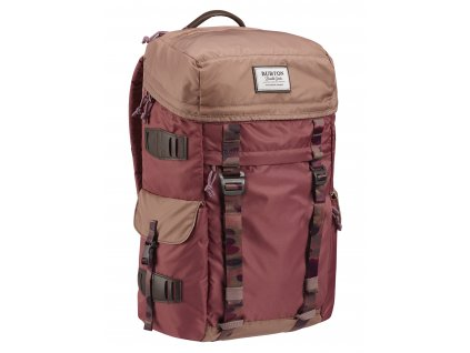 Burton ANNEX ROSE BROWN FLT SATIN 28L  + LED Svítilna