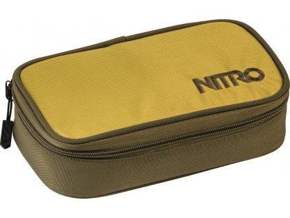 NITRO penál PENCIL CASE XL golden mud