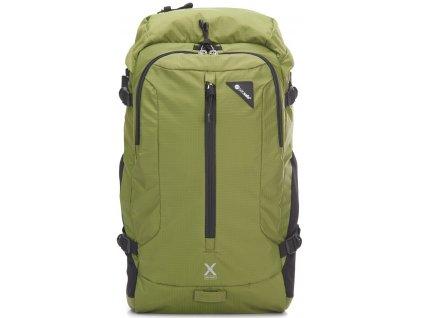 PACSAFE batoh VENTURESAFE X22 olive green  + LED Čelovka 3W
