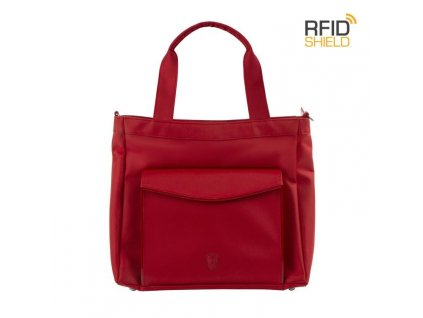 Heys HiLite RFID Laptop Tablet Tote Red  + LED Svítilna