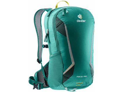 Deuter Race Air alpinegreen-forest  + LED svítilna
