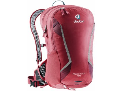 Deuter Race EXP Air cranberry-maron  + LED Čelovka 3W