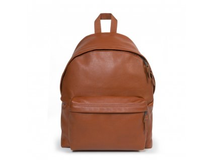 EASTPAK PADDED PAK'R Cognac Leather  + LED Čelovka 3W