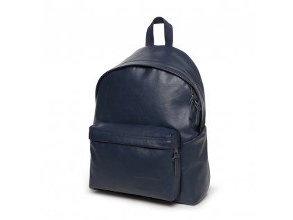 EASTPAK PADDED PAK'R Navy Leather  + LED Čelovka 3W