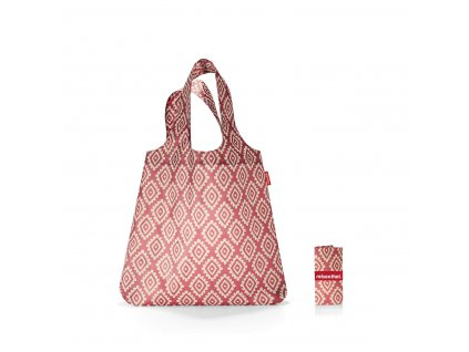 Reisenthel Mini Maxi Shopper Diamonds Rouge