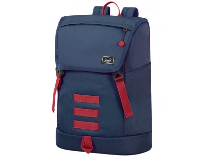 144610 american tourister urban groove ug lifestyle bp 3 15 6 navy red 28l