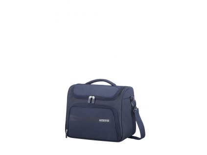 145424 american tourister summer voyager beauty case midnight blue