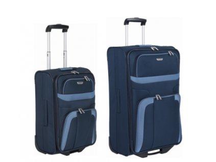Travelite Orlando S, L Navy - sada 2 kufrů