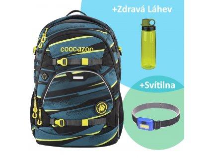 Školní batoh Coocazoo ScaleRale, Wild Stripe, certifikát AGR sk