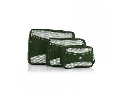 161090 heys eco packing cube 3pc set ii green