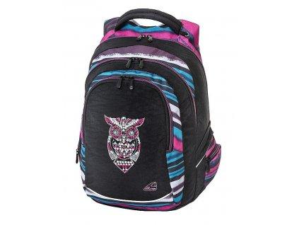 150443 studentsky batoh fame dark owl