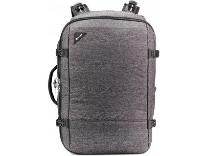 163859 pacsafe batoh vibe 40l carry on backpack granite melange