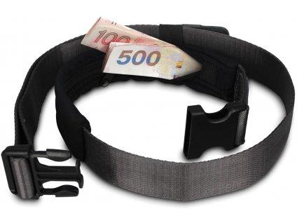 163910 pacsafe pasek cashsafe 25 wallet belt black